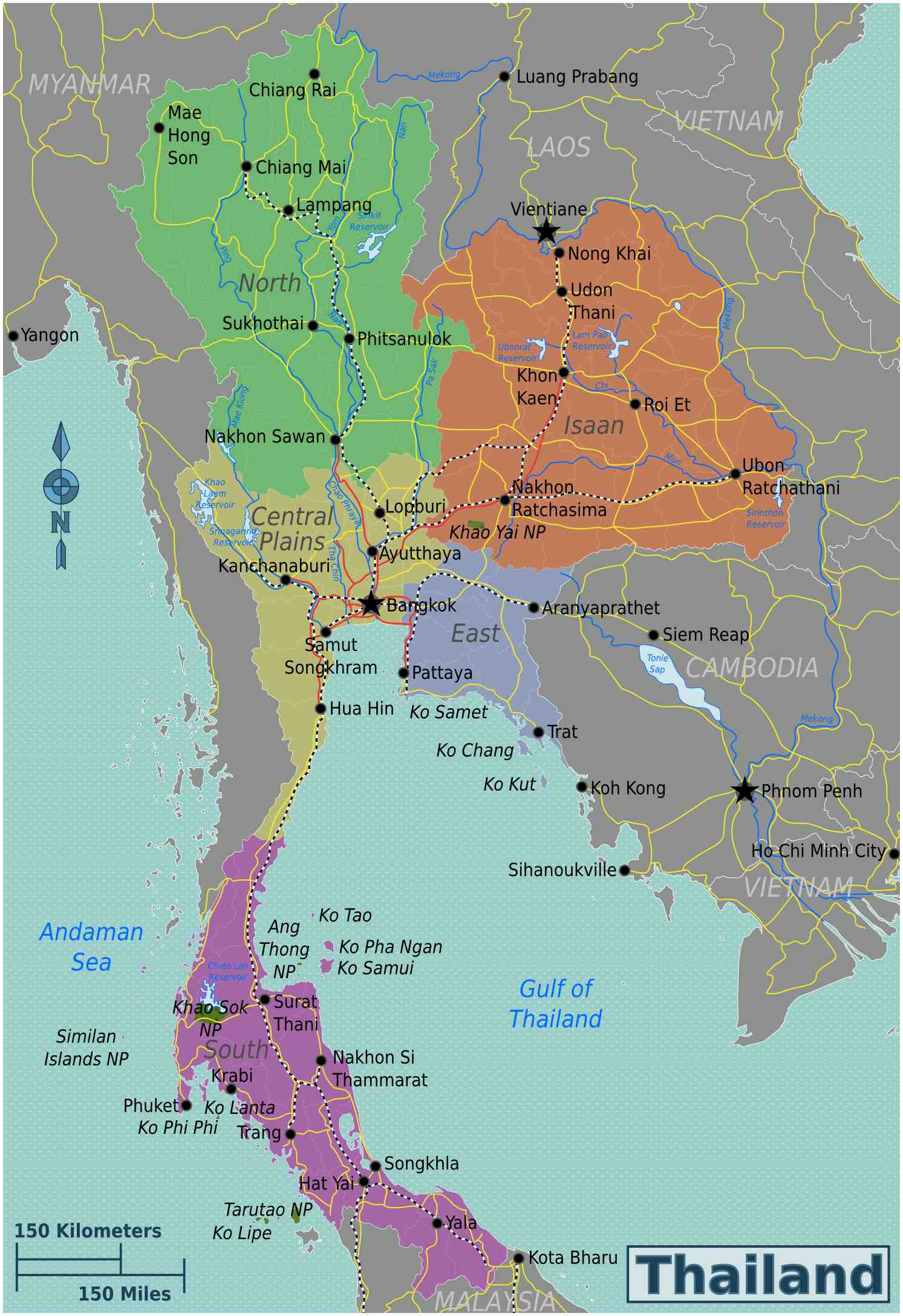 Heloohaloo 25 Elegant Kaart Thailand
