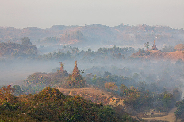 Mrauk U Myanmar  City new picture : Mrauk U of 'Baby Bagan' is één van dé bezienswaardigheden van ...