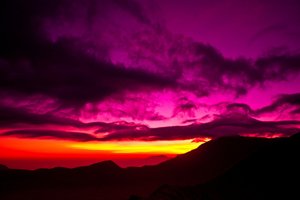 Mount Bromo is één van de bezienswaardigheden van Indonesië (Java)