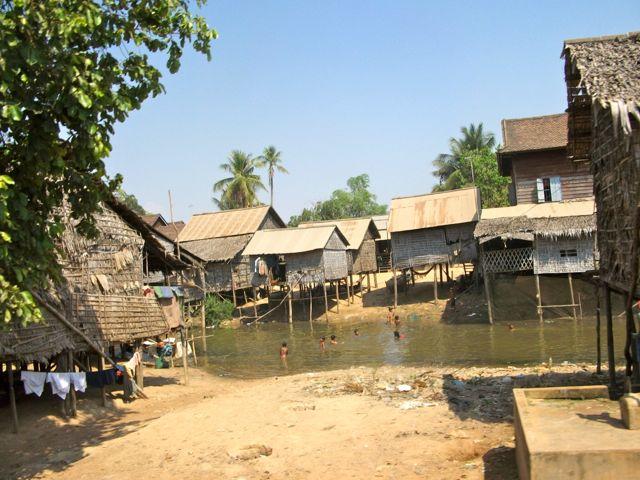 Dorp nabij Siem Reap