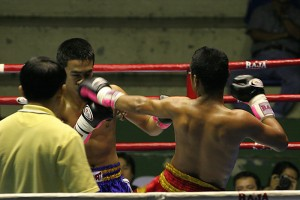 Muay Thai match in Bangkok (foto Dmitri Markine)
