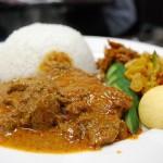 Een typisch gerecht uit de Maleisische keuken: nasi lemak
