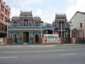 De samenleving van Singapore is een mix van culturen, waaronder de Indiase.