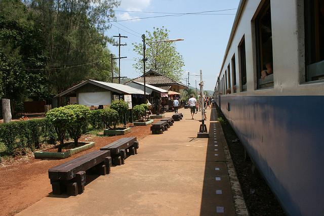 Rondreizen in Thailand met de trein