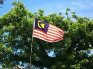 Maleisië in het kort - de vlag van Maleisië