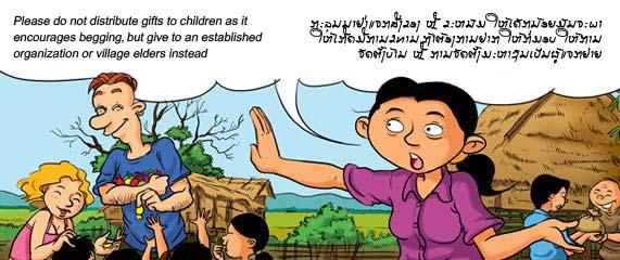 Do's & dont's in de Laotiaanse samenleving.