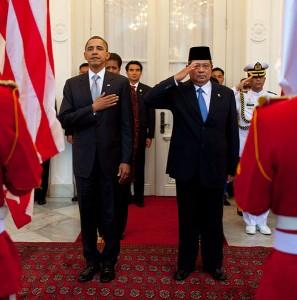 Yudhoyono bij Obama