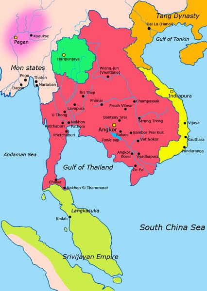 Het Khmer-rijk is ongetwijfeld het mooiste hoofdstuk uit de geschiedenis van Cambodja.