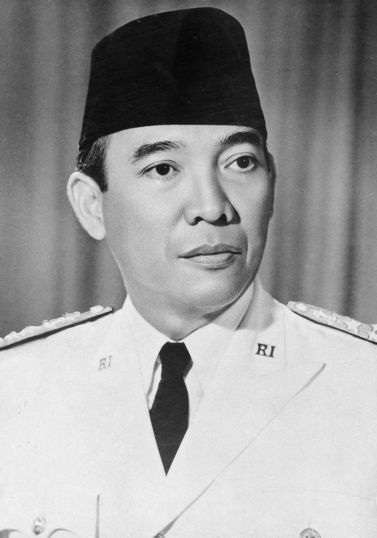 Soekarno speelde een belangrijke rol in de recente geschiedenis van Indonesië