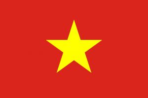 De vlag van Vietnam