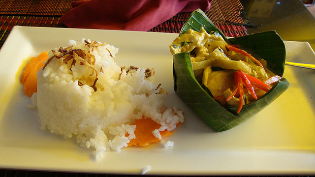 Amok is een klassieker uit de Cambodjaanse keuken