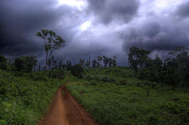 De moesson bepaalt het klimaat in Cambodja, maar de regens maken sommige plaatsen ook mooier.