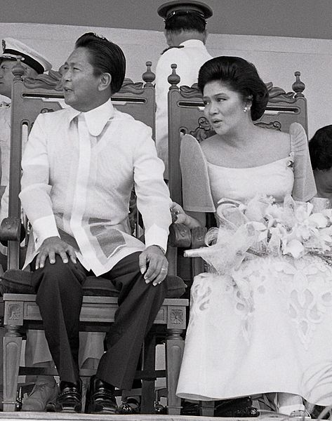 Ferdinand en Imelda Marcos