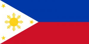 De vlag van de Filipijnen