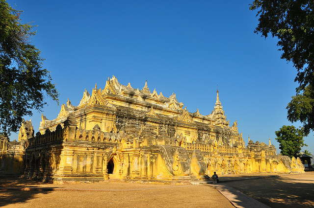 Inwa: kandidaat UNESCO werelderfgoed van Myanmar.
