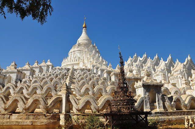 Mingun: kandidaat UNESCO werelderfgoed van Myanmar