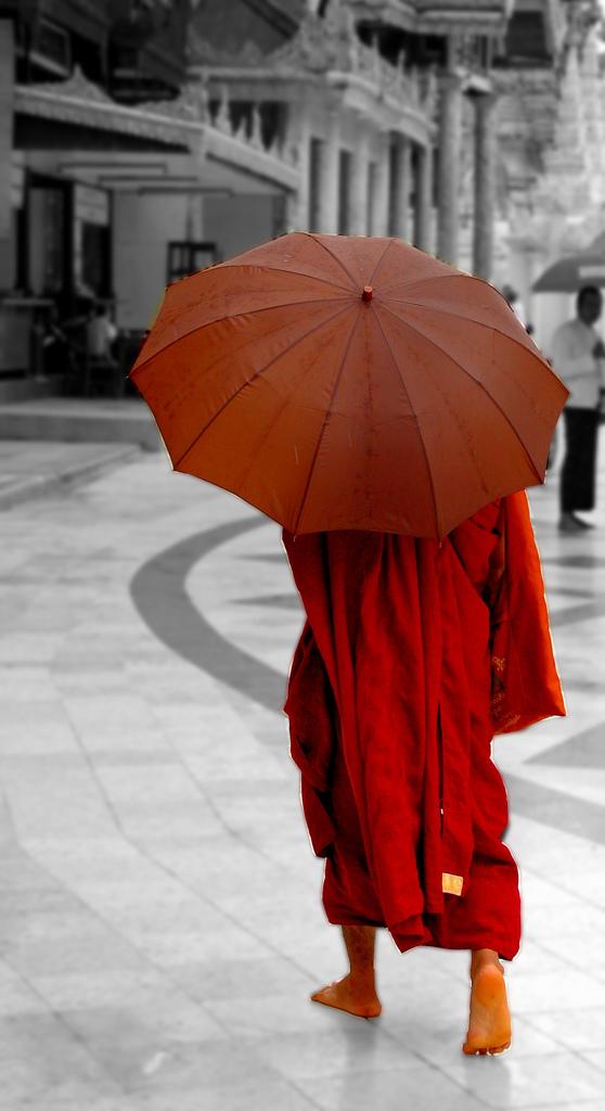 De Myanmarese samenleving is een boeddhistische samenleving