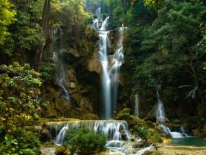 Kuang Si is één van de mooiste watervallen van Laos