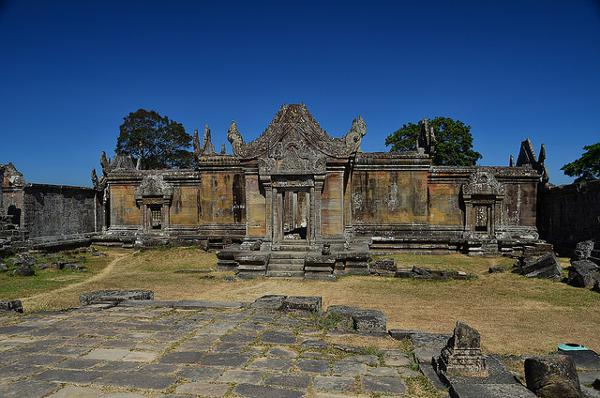 Preah Vihear is UNESCO werelderfgoed van Cambodja
