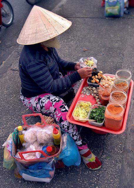 Je kunt je reiskost in Vietnam aanzienlijk beperken door enkel street food te eten