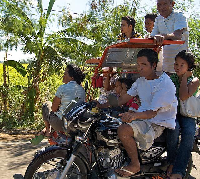 Rondreizen in de Filipijnen - transport ter plaatse: de tricycle