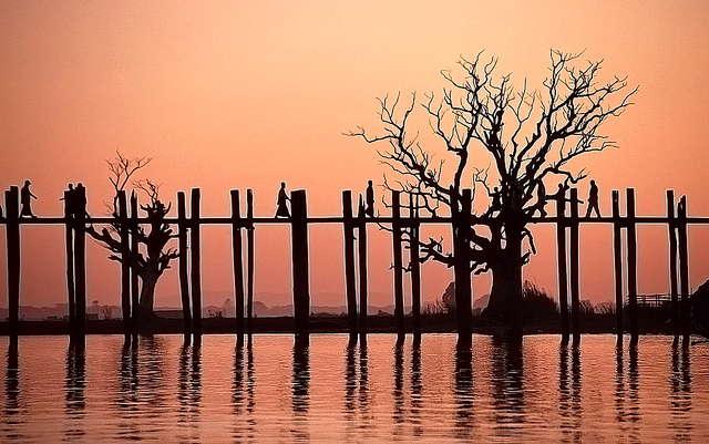 Amarapura: kandidaat UNESCO werelderfgoed van Myanmar