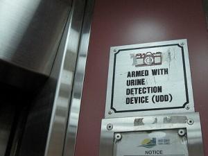 Bizarre wetten in Singapore: plas niet in de lift