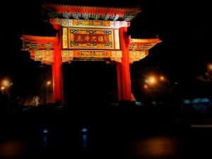 Toegangspoort tot Yaowarat, één van de oudste chinatowns ter wereld