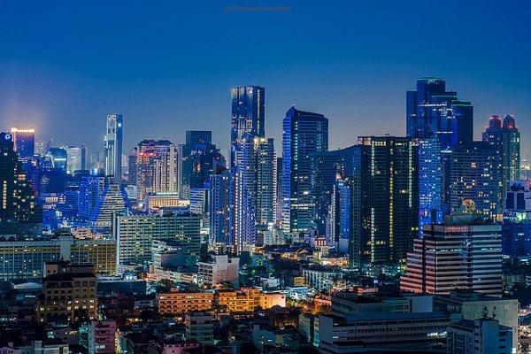 Bangkok staat op de eerste plaats van de top steden in Azië