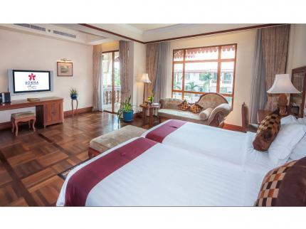 geschikte accommodatie in Cambodja: hotels zijn vaak erg goedkoop