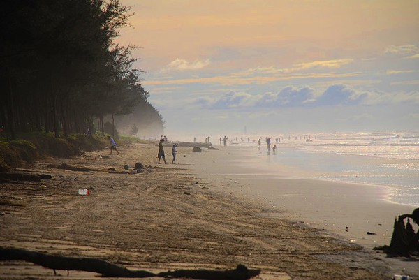 Pantai Seri Kenangan is één van de mooiste stranden van Brunei