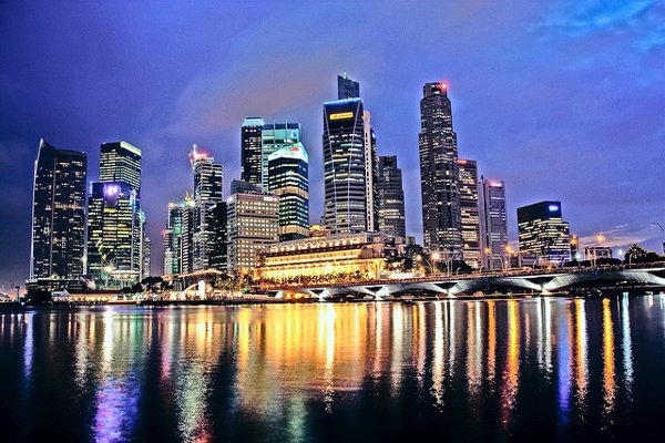 Singapore staat op plaats 4 in de lijst van topsteden in Azië