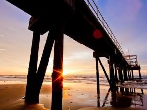 Meragang beach is één van de mooiste stranden van Brunei