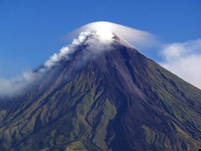 Mount Mayon is één van de top bezienswaardigheden van Luzon in de Filipijnen