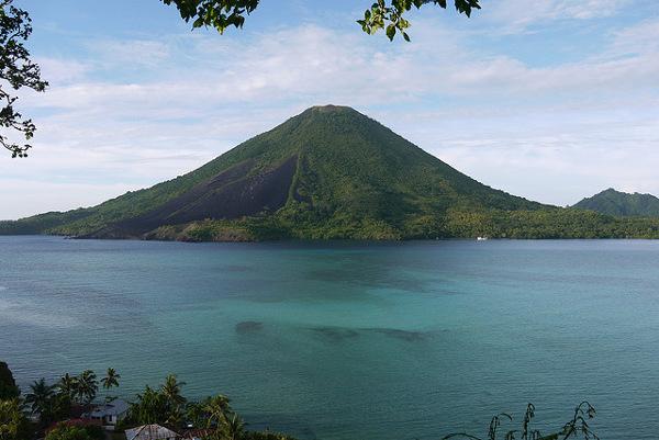 De Banda eilanden op de Molukken, Indonesië