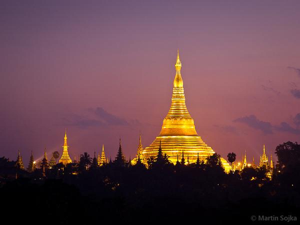 Shwedagon Pay is één van de belangrijkste bezienswaardigheden van Yangon en zelfs van heel Myanmar
