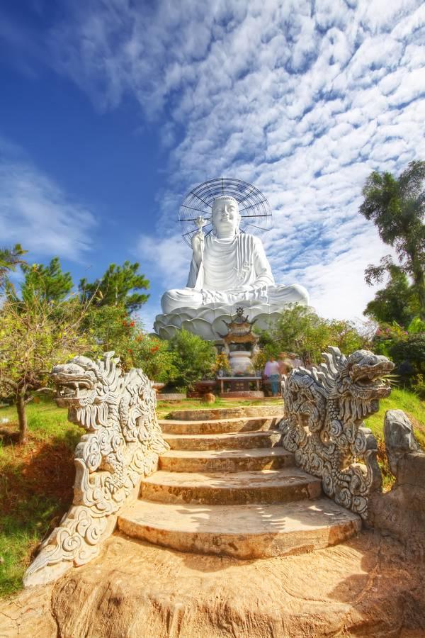 Dalat is één van de trekpleisters in de centrale hooglanden van Vietnam