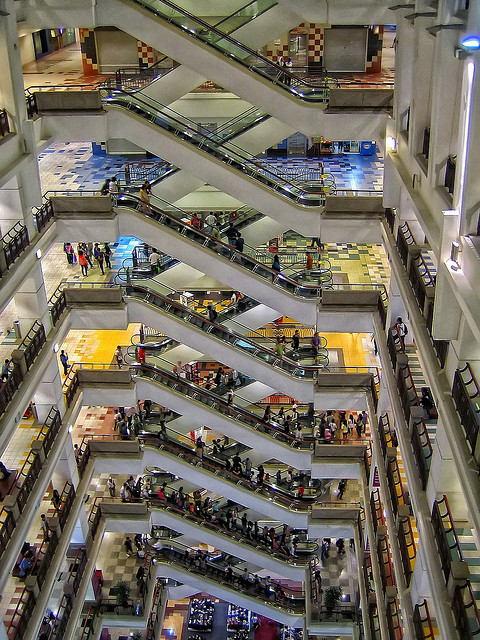 De 10 beste shopping malls van Kuala Lumpur: Berjaya Times Square is één van de grootste malls van Kuala Lumpur