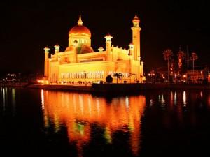 Brunei bezienswaardigheden: Omar Ali Saifud Dien