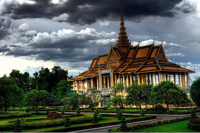 Royal Palace & Silver Pagoda, één van de bezienswaardigheden van Phnom Penh