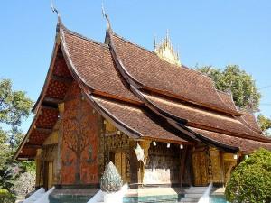 Wat Xien Thong tempel in Luang Prabang. Luang Prabang is één van de top bezienswaardigheden van Laos