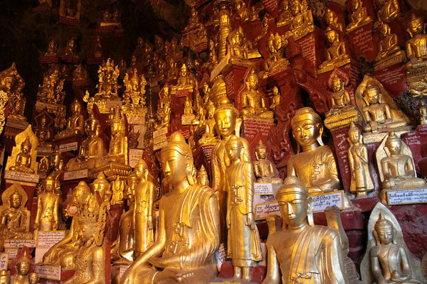 De grotten van Pindaya