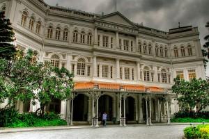 Het Raffles Hotel is één van de bezienswaardigheden van Singapore