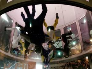 Indoor skydiven in Singapore