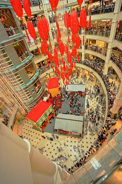 Suria KLCC Shopping Mall is één van de beste malls van Kuala Lumpur