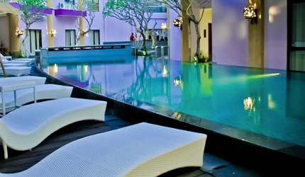 beste spa hotels van bali: quest kuta