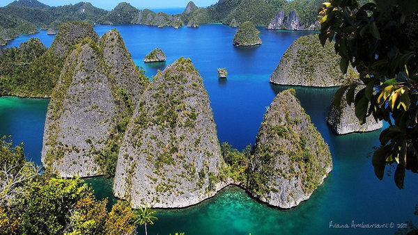 Raja Ampat is één van de highlights van Papoe (Irian Jaya), Indonesië