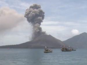vulkanen van Indonesië overleven