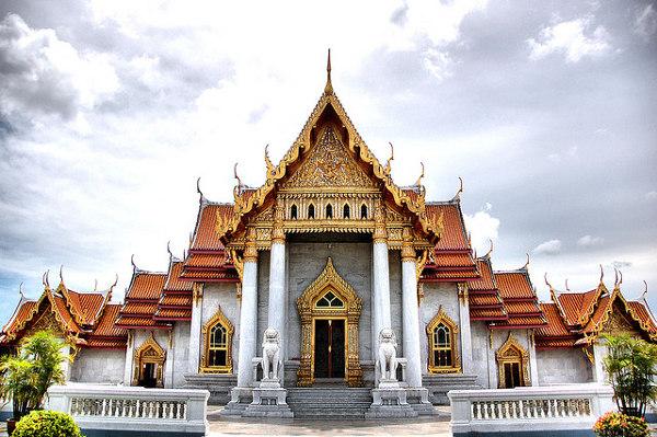 Wat Ben is één van de bezienswaardigheden van Bangkok