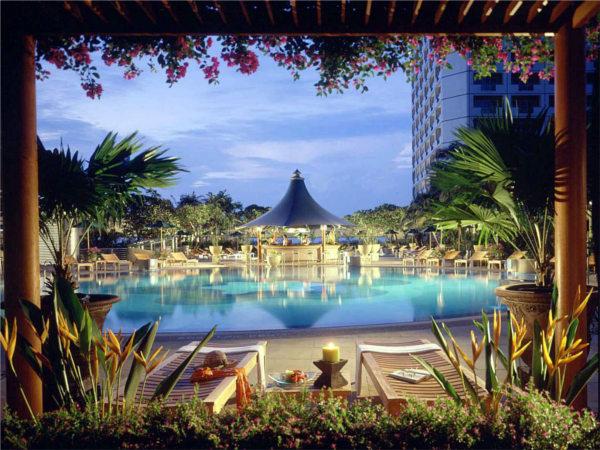 Het Fairmont Hotel in Singapore staat 16de in de top 20 van beste hotels van Zuidoost-Azië